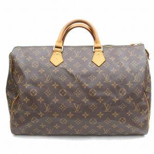 Auth Louis Vuitton Speedy 40 Boston Bag #1369L21